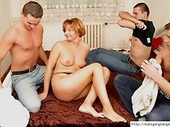 Three guys diddling mature pussy and mouth 0 mature sex pics
