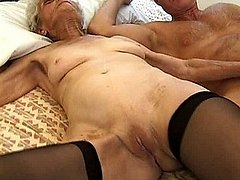 Super old grandma with saggy titties sucking cock 0 mature sex pics