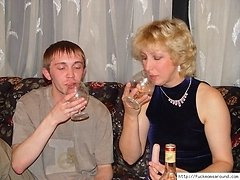 Drunken mature seduced by young buddy 0 mature sex pics