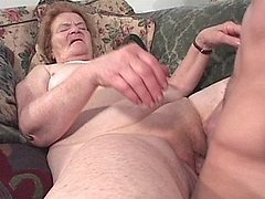 Old granny gets fucked and spunked 3 mature sex pics